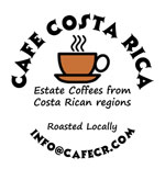 Estate coffee from Costa Rica.
